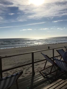 View from Praia Do Castello