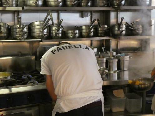 Padella Pasta Chef at work