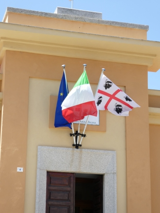 Sardinian flag - four moors