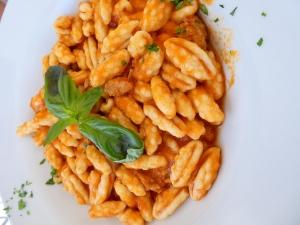 Mallorreddus - typical sardinian dish
