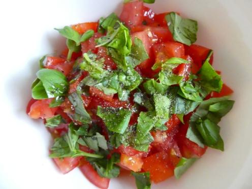 tomato mix for bruschetta