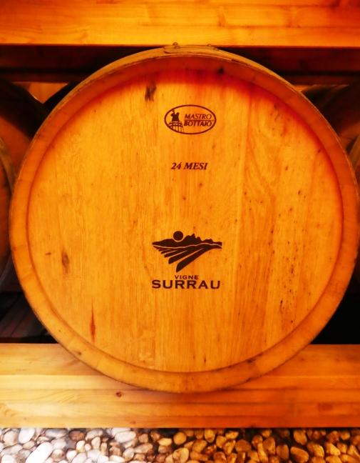 24 month old barrel at Vigne Surrau