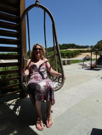 Vineyard swing