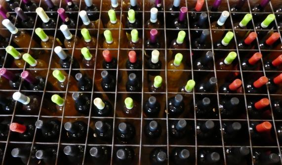 bottles at Vigne Surrau