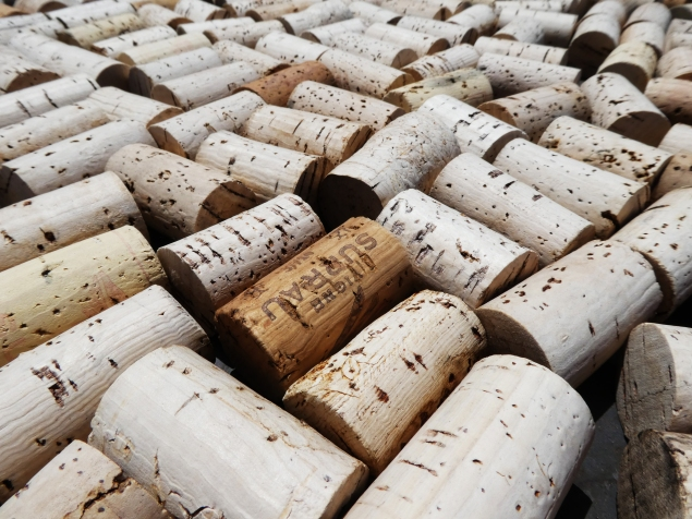 Collection of corks