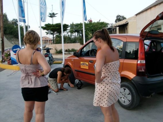 budget car hire in Greece