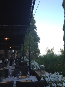 Amazing resturant in Gassin, Provence