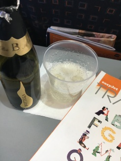 Prosecco on board!
