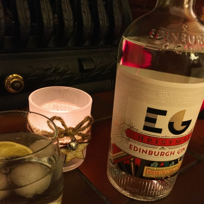 Christmas Edinburgh Gin