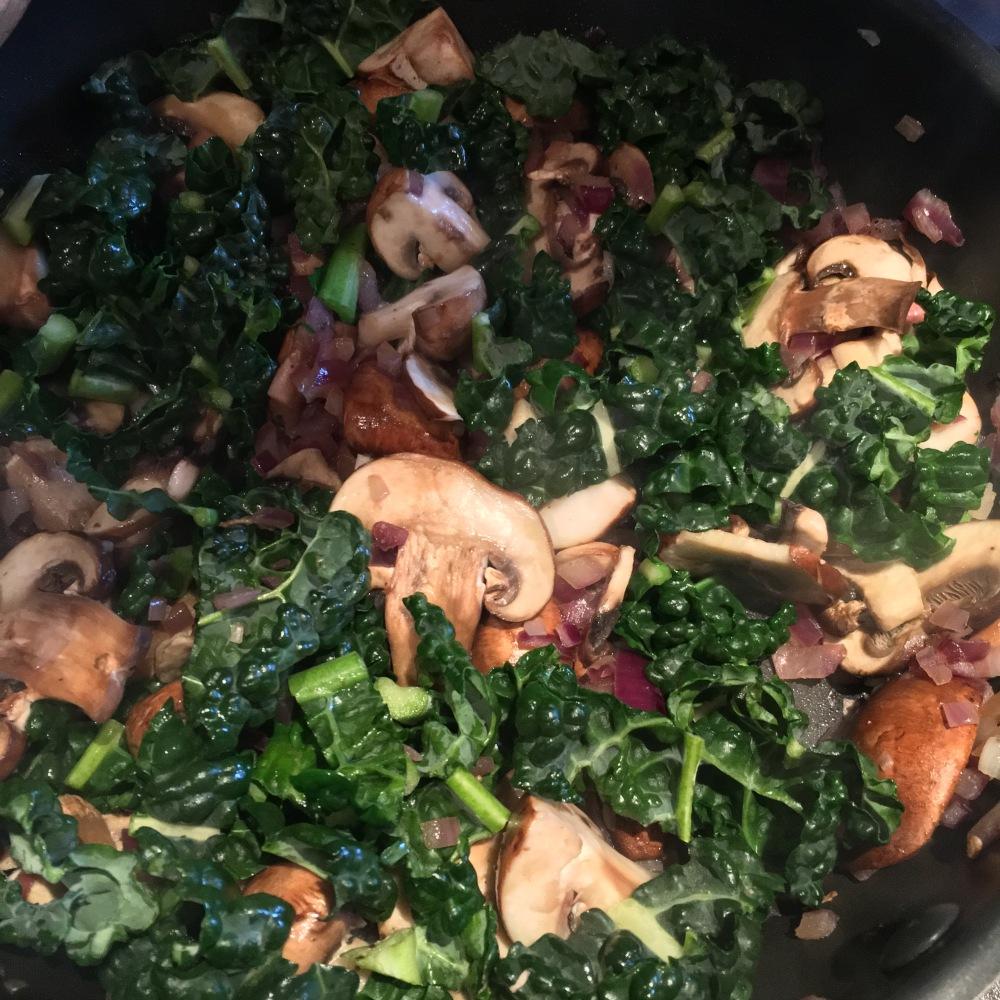 Ingredients for sauasage gnocchi
