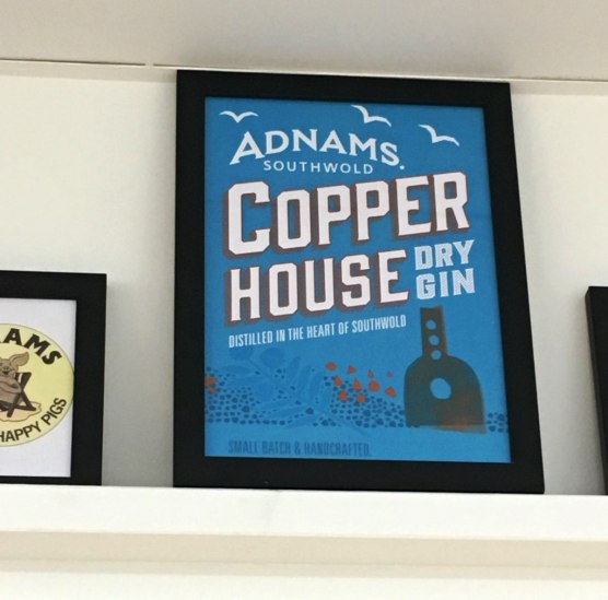 Copper House Dry gin poster