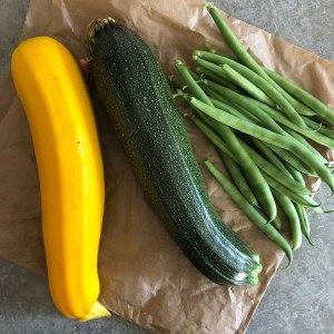 Homegrown veg