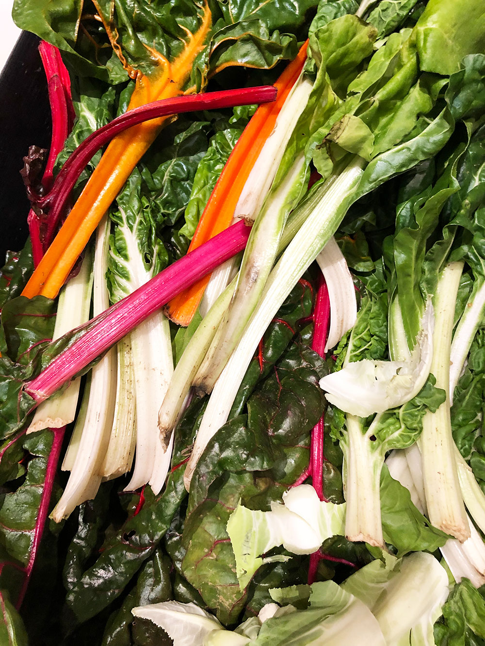 Chard for Sautéed chards with chilli and garlic