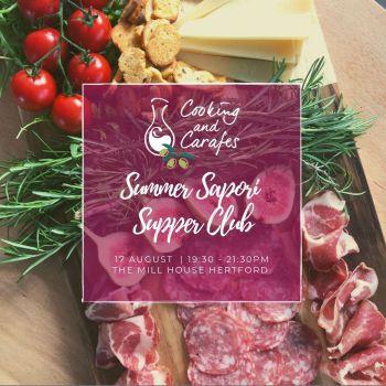 Summer Sapori Supper Club Hertford